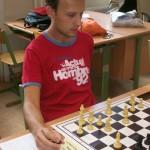 U šachovnice