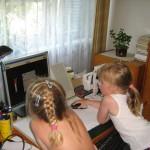 Šachové pracoviště okupované vnučkami
