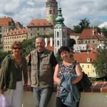 Z výletu do Č.Krumlova - Barešovi a má žena